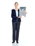 Accountant business woman Stock Photography