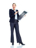 Accountant business woman Royalty Free Stock Photo