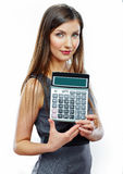 Accountant business woman portrait. Stock Image