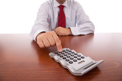 Accountant businessman Royalty Free Stock Photos