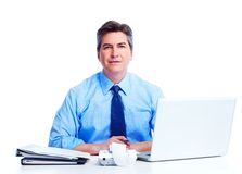 Accountant businessman. Stock Image
