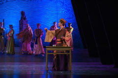 """Accountant-Dance drama """"The Dream of Maritime Silk Road"""". Dance drama """"The Dream of Maritime Silk Road"""" centers on the plot of two generations of Royalty Free Stock Image"""