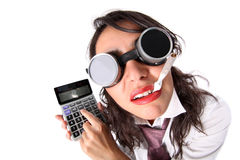 Accountant manage Royalty Free Stock Photos