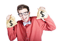 Accountant with tax return Stock Photography