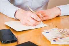 Accountant at Work Royalty Free Stock Photography