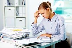 Accountant working Stock Photos