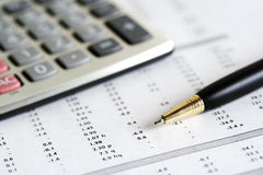 Accounting. Royalty Free Stock Photos