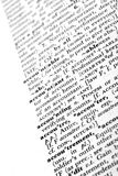 Accounting. Close-up of the dictionary definitions for accounting and accountant Royalty Free Stock Image