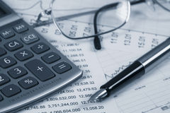 Accounting. Stock Photos