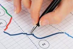 Accounting. Stock Image