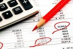 Accounting. Royalty Free Stock Photos