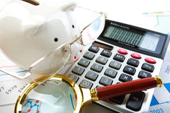 Accounting. Stock Photo