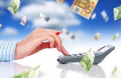 Accounting. Royalty Free Stock Photography