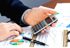 Accounting. Stock Image