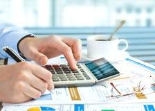 Accounting. Royalty Free Stock Image