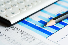 Financial accounting Royalty Free Stock Photos