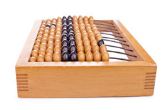 Accounting abacus Stock Photo