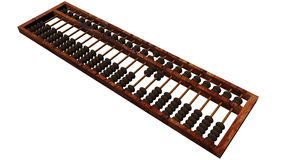Accounting abacus Stock Photography