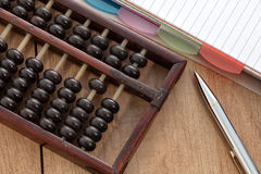 Accounting abacus Stock Photos
