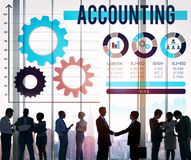 Accounting Account Financial Finance Economy Concept.  Stock Photos