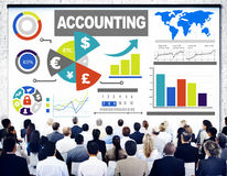Accounting Analysis Banking Business Economy Financial Concept. Accounting Analysis Banking Business Economy Financial Investment Concept Royalty Free Stock Photography