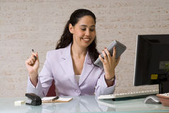 Accounting And Calculating Royalty Free Stock Photos