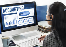 Accounting Auditing Balance Bookkeeping Capital Concept Stock Photography