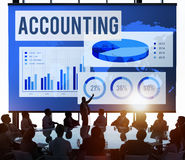 Accounting Auditing Balance Bookkeeping Capital Concept Stock Photo