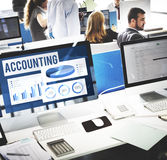 Accounting Auditing Balance Bookkeeping Capital Concept Royalty Free Stock Photography