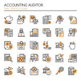Accounting Auditor Elements Royalty Free Stock Images