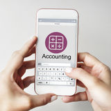 Accounting Budget Electronic Calculator Investment Concept Stock Images