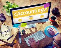 Accounting Budgeting Financial Service Ananlysing Concept Stock Images