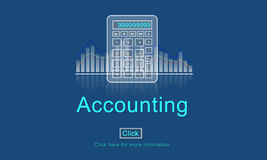 Accounting Business Credit Economy Icon Concept Stock Photography