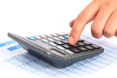 Accounting. Royalty Free Stock Photo
