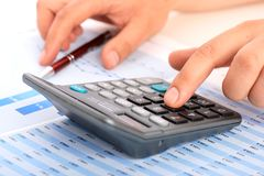 Accounting. Stock Photography