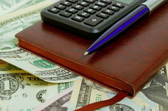 Accounting and control of funds. Stock Photography