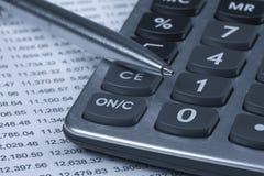 Accounting.dual Ton Lizenzfreies Stockbild