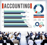 Accounting Finance Auditing Money Banking Concept Royalty Free Stock Images