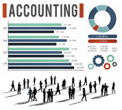 Accounting Finance Auditing Money Banking Concept Royalty Free Stock Photography