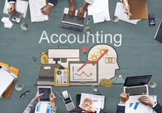 Accounting Finance Auditing Money Banking Concept Stock Photo