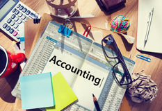 Accounting Finance Money Audit Concept Stock Photography