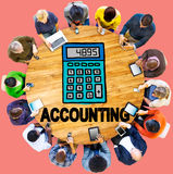 Accounting Finance Money Banking Business Concept Stock Image