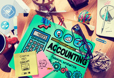 Accounting Finance Money Banking Business Concept Stock Photography