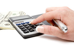 Accounting and finances Royalty Free Stock Photo