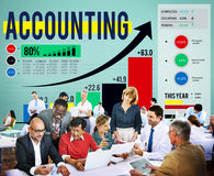 Accounting Financial Bookkeeping Budget Management Concept.  Stock Photography