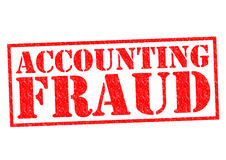 ACCOUNTING FRAUD Stock Photo