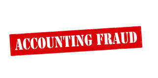 Accounting fraud Stock Images