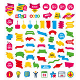 Accounting icons. Document storage in folders. Stock Image