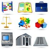 Accounting Icons Set 4 royalty free illustration