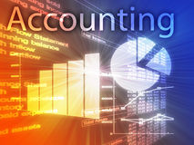 Accounting illustration Stock Photo